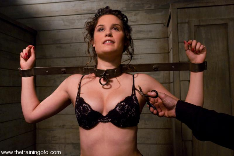 Bdsm female slave girls in chains